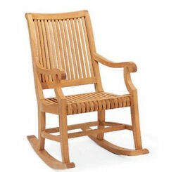 Giva A-Grade Teak Outdoor Garden Patio Rocker Rocking Chair Furniture New