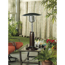 Patio Portable Heater Tabletop Outdoor Use Deck Porch Warmth Heat Propane New