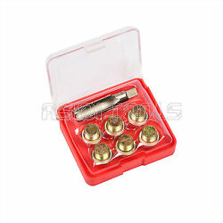 13mm Oil Pan Thread Repair Kit Set Sump Drain Plug Repair Kit Includes Washers $10.80