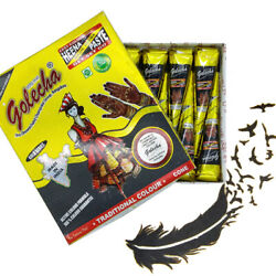 BLACK GOLECHA Herbal Henna Cones Temporary Tattoo Body Art Mehandi CHOOSE QTY $19.00