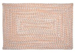 Catalina Indoor Outdoor Rectangle Braided Rug Sun-Soaked ~ Made in USA