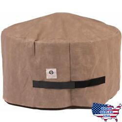 Duck Covers Elite Round Fire Pit Cover 50-Inch New Free Ship