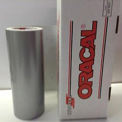 Oracal 651 12quot; x 10 ft. Silver Grey #090 Vinyl for CraftSign by precision62 $11.99
