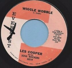 LES COOPER and the SOUL ROCKERS - EVERLAST 5019 WIGGLE WOBBLE   strong VG+
