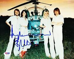 BJORN ULVAEUS BENNY ANDERSSON SIGNED ABBA 8X10 PHOTO AUTOGRAPH PSADNA COA