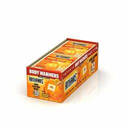 HotHands Supersize Body Warmer w Adhesive (40 count)