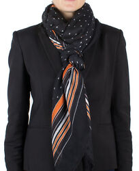 New Auth Givenchy Women's Striped Cashmere Scarf Large