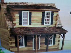Doll House Real Good Toys Adirondack Wood Log Cabin Kit #J-550 NEW GIFT