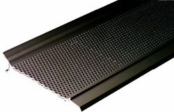Gutter Guard Pro GG5DB-1 12-Foot Gutter Screen System Snap-In Cover Dark Brown
