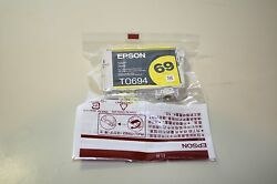 Epson TO694 Yellow Ink Cartridge 69 Sealed $12.50