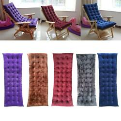Garden Long Lounge Chair Pad Thickened Non-slip Sofa Cushion Decor 5 Colors PICK