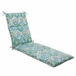 New Chair Pads Pillow Perfect IndoorOutdoor Summer Breeze Chaise Lounge Pool
