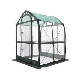 Flower Plant House 5 ft. x 5 Feet Pop-Up Greenhouse Clear PVC Cover Gardening
