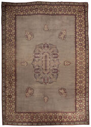 Large Vintage French Art Deco Rug BB4896