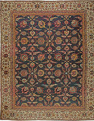 Oversized Antique Indian Amritsar Rug BB5726