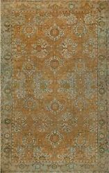 Oversized Antique Indian Agra Rug BB5441