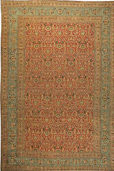 Oversized Antique Persian Meshad Rug BB6128