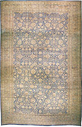 Oversized Antique Persian Kirman Rug BB3086