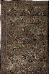 Oversized Antique Persian Kirman Rug BB4644