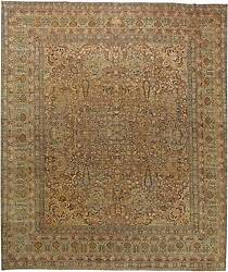 Over-sized Antique Persian Kirman Rug BB6045
