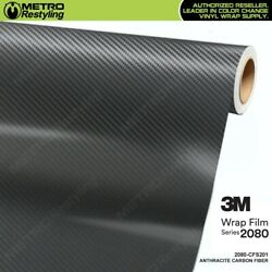 3M 1080 CF201 ANTHRACITE CARBON FIBER Vinyl Vehicle Car Wrap Decal Sheet Roll