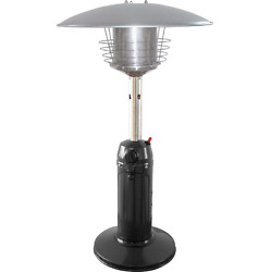 Tabletop Patio Heater Portable Propane Gas Outdoor Garden Yard Stainless Steel