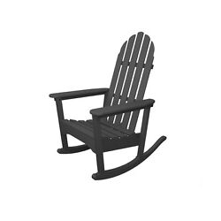 Recycled Plastic Adirondack Rocking Chair