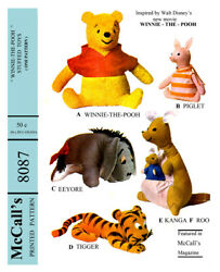 Vintage McCall's Winnie The Pooh Fabric material Sewing Pattern #8087