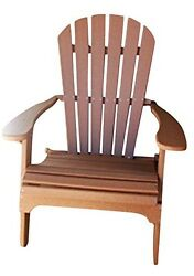 Phat Tommy Recycled Poly Resin Folding Adirondack Chair - Durable and
