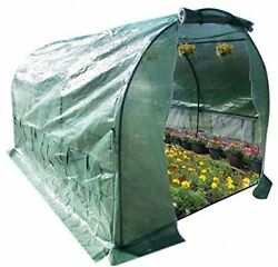 Hot House Greenhouse Walk In Outdoor Plant Gardening PE Mesh Full Closed Cover