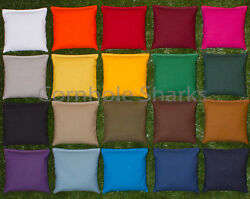 ALL WEATHER Waterproof Resin ACA Cornhole Bean Bags Set of 8 PICK YOUR 2 COLORS! $26.95