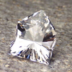 DANBURITE-MEXICO 12.58Ct CLARITY SI2-PERFECT FACETING-NATURAL UNTREATED GEMSTONE $247.00