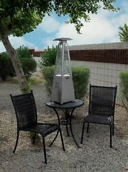 Outdoor Patio Heater Warmer Propane Butane Table Top Porch Deck Ambiance Tube
