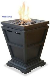 LP Gas Column Small Table Top Fire Pit Outdoor Fire Pit Gas Outdoor Fire Pit