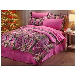 Hunting Camo Bedding Full Twin Queen King Bedspread Bed Camouflage Comforter Set