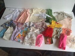 Vintage  Mod Hand Home Made Clone Manufactured TLC clothing Lot to fit Barbie