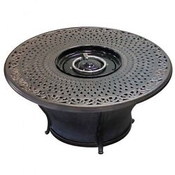 Patio Fire Pit Table Outdoor 48