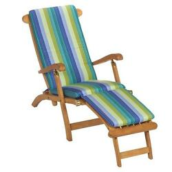Chaise Lounge Cushion Chair Multi Color Outdoor Patio Deck Replacement Seat Pad