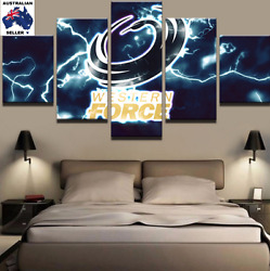 Western Force Modern Abstract Modern Home Wall Decor Canvas (5piece)