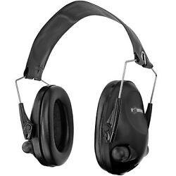Boomstick Electronic Ear Muff Safety Hearing Noise Protection Gun Shooting Black $39.98