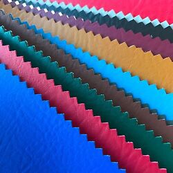 Vinyl Fabric Faux Leather Pleather Auto Upholstery Marine 54quot; Wide By the Yard $9.95