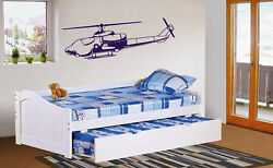 ik340 Wall Decal Sticker Decor sky helicopter military police commandos kids $28.99