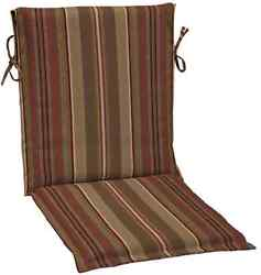 3-Pcs Reversible Stripe Cushion For Sling Chair Outdoor Patio Furniture Accent