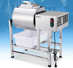 CE Stainless Steel Meat Salting Machine Meat Poultry Tumbler Machine 25L 220V $1696.88