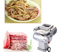 CE Power 600W Household Commercial Small Meat Cutting Machine Kitchen Equipment $317.88