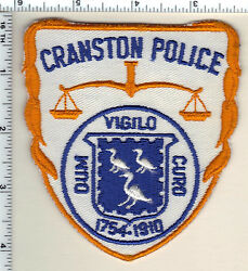 Cranston Police Rhode Island Shoulder Patch from 1991 $24.95
