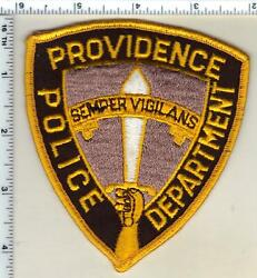 Providence Police Rhode Island 1st Issue Shoulder Patch $24.95