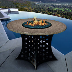 BEST GRANITE TOP NATURAL or PROPANE GAS FIRE PIT 29