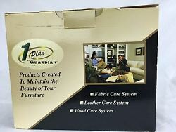 1 Plan by Guardian Fabric Leather Wood Care System Furniture Cleaner Kit