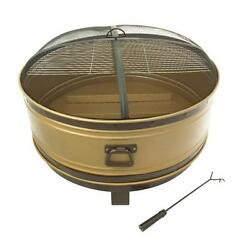 Outdoor Heating Fire Pit 36